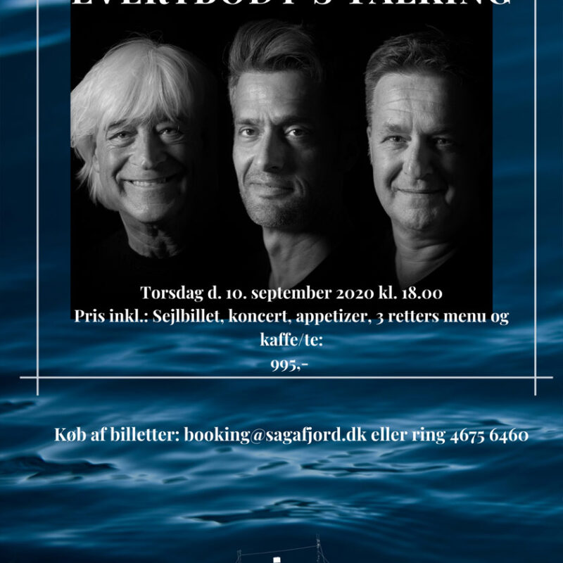 Koncert med Everybodys Talking, torsdag 10. september 2020