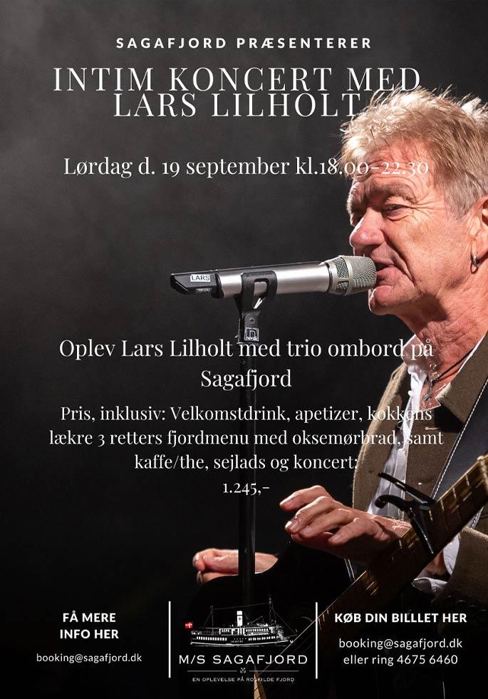 Intimkoncert med Lars Lilholt 2020