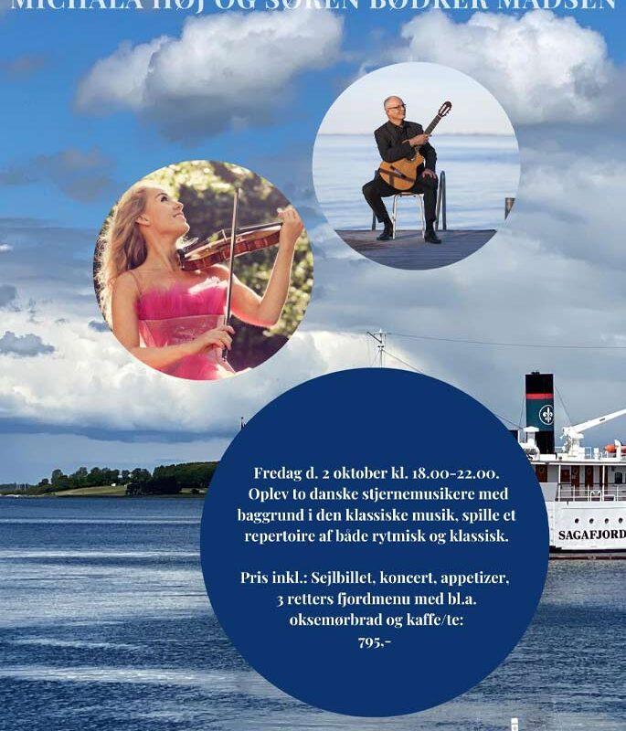Koncert med Michala Høj & Søren Bødker Madsen, fredag 2. oktober 2020