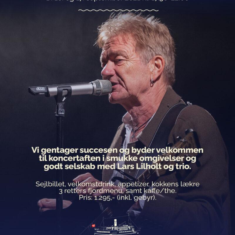 Lars Lilholt med Trio d. 16 September 2021
