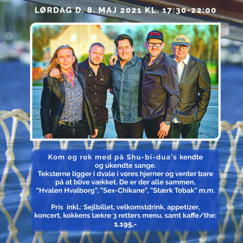 Hardinger Band lørdag d. 8 maj 2021
