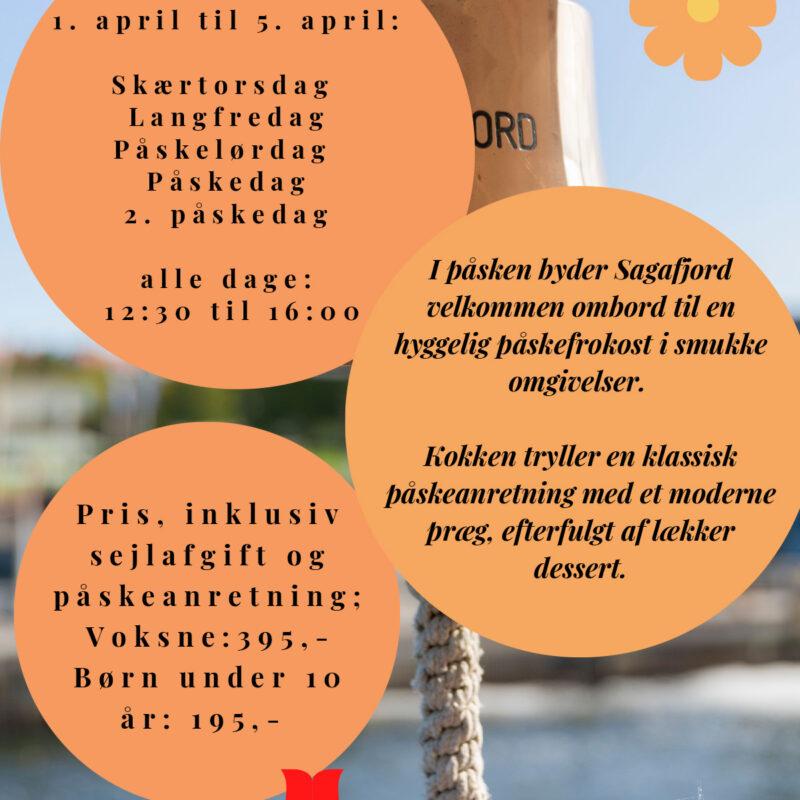Sagafjord Påskefrokost 1 April 2021