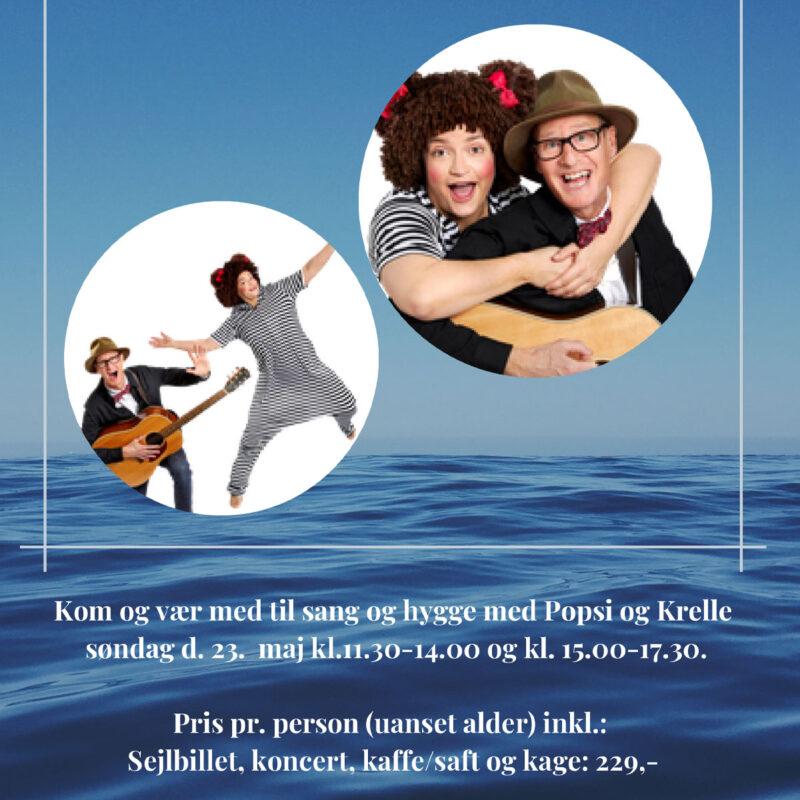 Popsi og Krelle Søndag 27 juni kl. 11.30-14